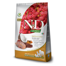 Farmina N&D quinoa Skin&Coat cane gusto quaglia 800gr